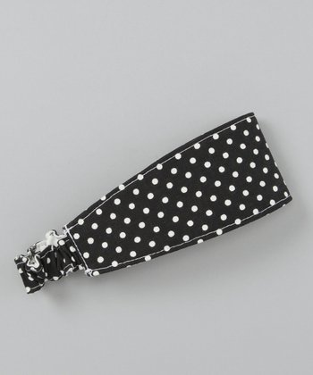 Black Forest Polka Dot Headband