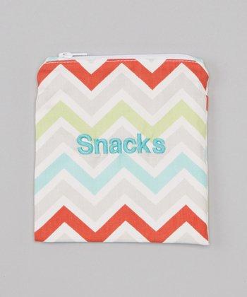 Caught Ya Lookin' Harmony Zigzag 'Snacks' Bag