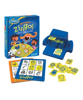 Bilingual Zingo! Spanish Game