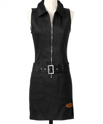 Black Oklahoma State Dress - Women