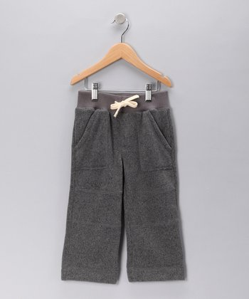Black Lounge Pants - Toddler & Boys