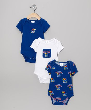 Kansas Jayhawks Supreme Bodysuit Set - Infant