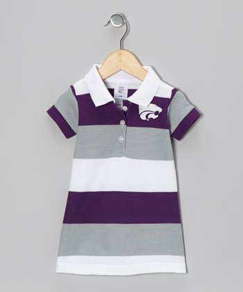 Kansas State Wildcats Referee Polo Dress - Infant