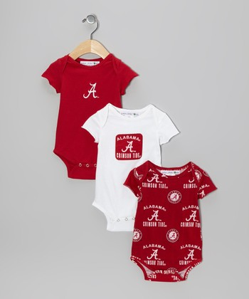 Alabama Crimson Tide Maverick Bodysuit Set - Infant