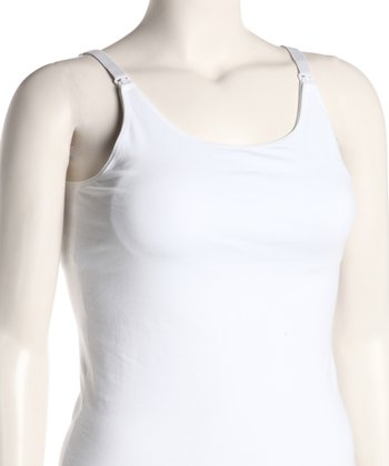 White Nursing Tank - Women
