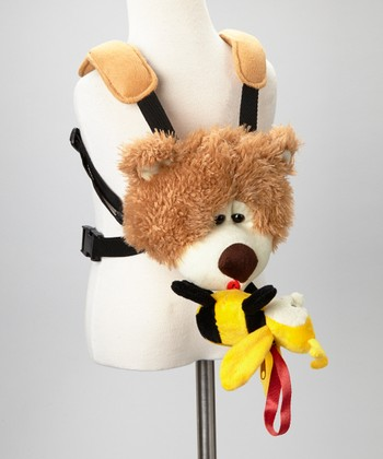 Baby Sherpa Fuzzy Bear & Bee Safe-2-Go Safety Harness