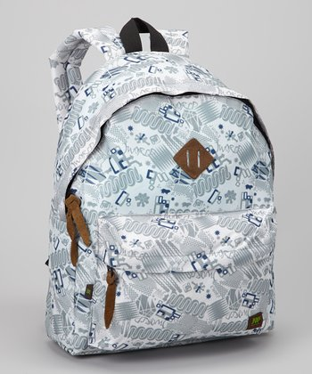 White Blinker Kelley Backpack