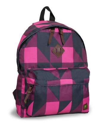 Pink Block Kelley Backpack