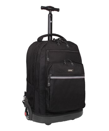 Black Sundance Wheeled Backpack