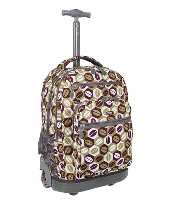 Coffee Sundance Wheeled Backpack