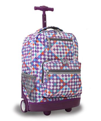 Checkmate Sunset Wheeled Backpack