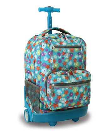 Spring Sunset Wheeled Backpack
