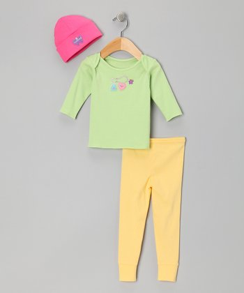 Cucumber & Buttercup Charming Tee Set