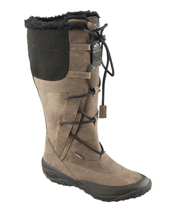 Gray Alpine Fern Boot - Women