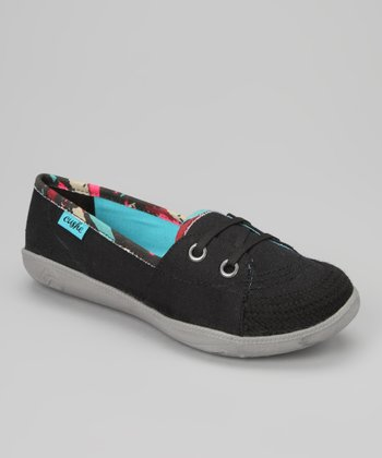 Black Hyper-Lite Slip-On Sneaker - Women