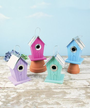 Ripple Roof Birdhouse