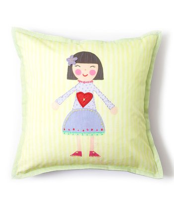 Violet Tooth Fairy Pillow
