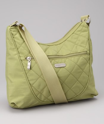 Leaf Green & Steel Blue Drifter Shoulder Bag