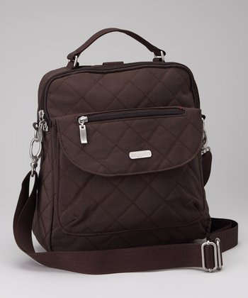 Espresso & Tomato Quilted Explorer Backpack