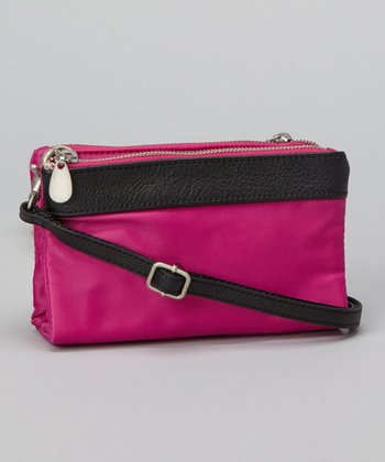 Rose Quartz Tessa Convertible Clutch