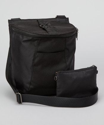 Black Unison Crossbody Bag