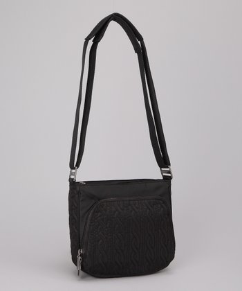 Black Allure Crossbody Bag