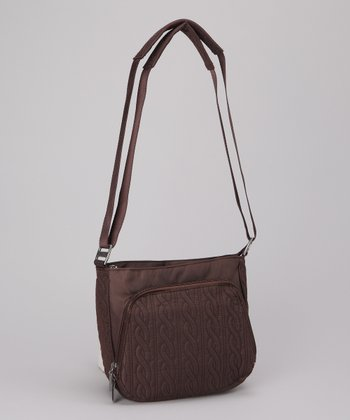 Espresso Allure Crossbody Bag