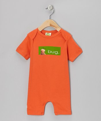 Red 'Bug' Organic Romper - Infant