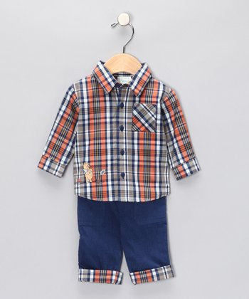 Northern Lights Pooh Button-Up Shirt & Pants