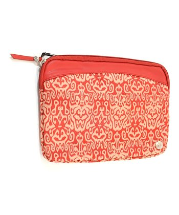 Red Ikat Palo Alto Case for iPad