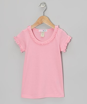 Pink Sunflower Tee - Infant, Toddler & Girls