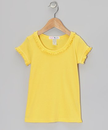 Yellow Sunflower Tee - Infant, Toddler & Girls