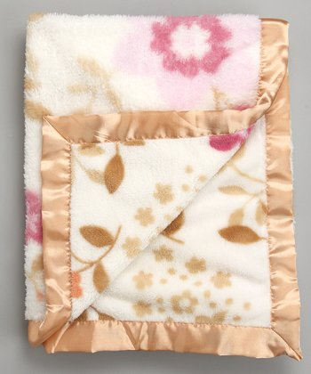 Gold Coral Fleece Blanket