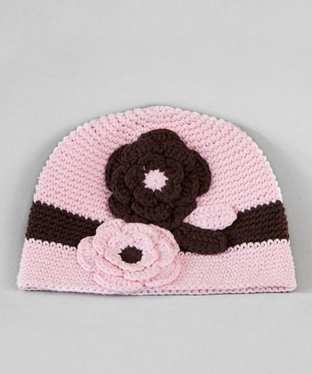 Light Pink Crochet Hat