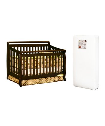 AFG baby furniture Espresso Amy Convertible Crib & Mattress