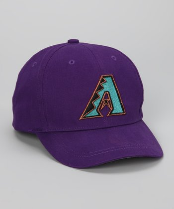 Purple Arizona Diamondbacks Replica Baseball Cap - Toddler