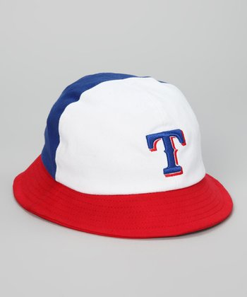 Red & Blue Texas Rangers Bucket Hat