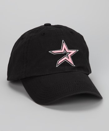 Black Houston Astros Baseball Cap
