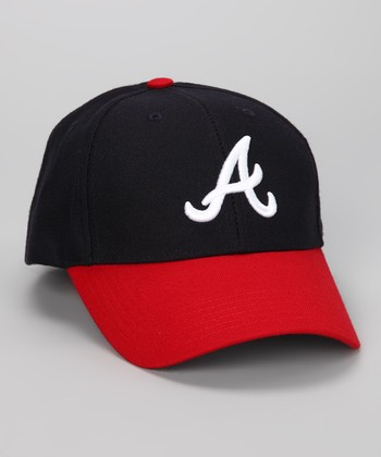 Navy & Red Atlanta Braves Baseball Cap