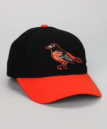 Black & Orange Baltimore Orioles Baseball Cap
