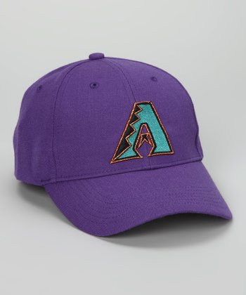 Purple Arizona Diamondbacks Baldschun Baseball Cap