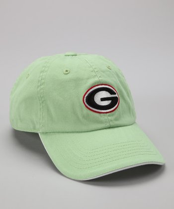 Georgia Bulldogs Green Baseball Cap