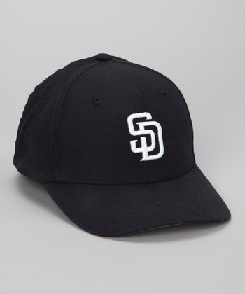 Midnight Blue San Diego Padres Flexfit Baseball Cap
