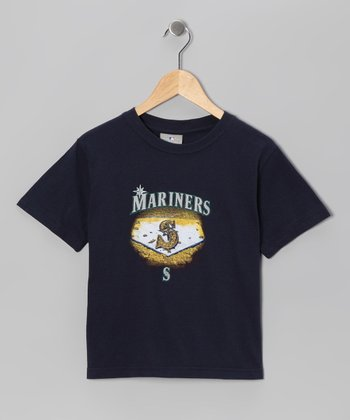 Navy Seattle Mariners Tee - Kids