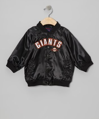 Black San Francisco Giants Jacket - Infant