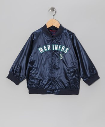 Navy Seattle Mariners Jacket - Toddler