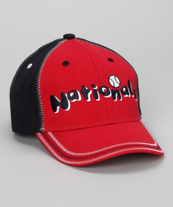 Red & Navy Washington Nationals Baseball Cap