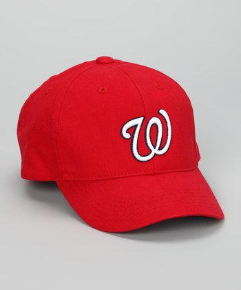 Red Washington Nationals Baseball Cap