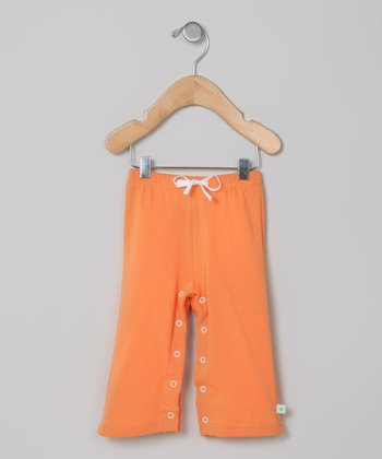 Tangerine Organic Pants - Infant