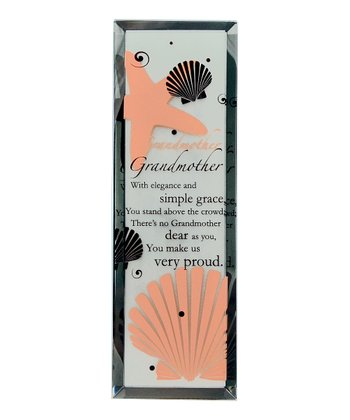 Seashell 'Grandmother' Tabletop Mirror Plaque